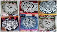 Diana Lena 8 Magazine Your Choice Crochet Knit Fillet embroidery German Patterns