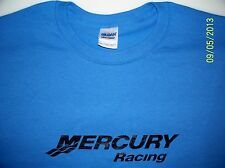 Mercury Racing Screen Printed Iris T-Shirt 100% Heavy Cotton Pre Shrunk