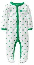 CARTER'S BABY BOY GIRL MY FIRST ST PADDY'S DAY PJS ST PATRICK'S OUTFIT NB 3M 6M
