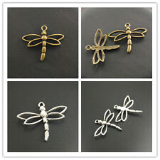 New 15pcs insect world Dragonfly Charms 26x33mm the Nature of jewelry accessory