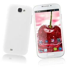 """Unlocked White 5"""" Cell Smart Phone T-Mobile Dual SIM 3G/GSM Android Dual Core"""