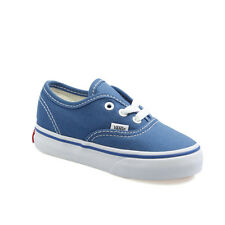 Vans Authentic Navy White Canvas Infant Toddler Baby Boy Girl Shoes Size 4-10