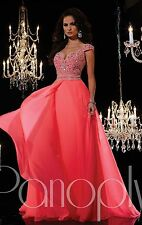2015 Long Formal Evening Ball Gown Party Prom Bridesmaid Dress Stock Size: 6-16