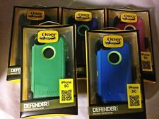 Otterbox Defender Case Cover & Belt Clip Holster for Apple iPhone 5C