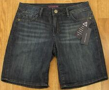 Tommy Hilfiger Shorts Womens Blue Denim Casual 5-Pocket NEW (4119)