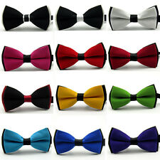 Mens Adjustable Bowtie Men Tuxedo Bow Tie Necktie For Wedding Formal Party