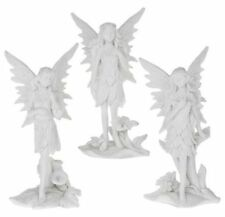 White Paradise Fairy Figurine Ornament From The Leonardo Collection