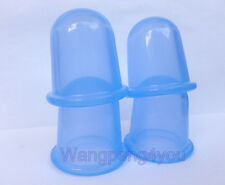 4pcs CUPPING Therapy SET ANTI CELLULITE SILICONE MASSAGE CUPS VACUUM BODY CUP