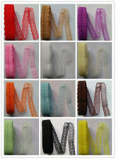 Beautiful 10yards embroidery lace ribbon colors can be selected(16 color)