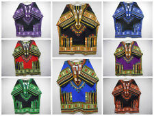 Mens Dashiki Shirts African Vintage Blouses Hippie Top WHOLESALE LOT 10 Pieces