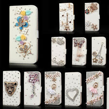 Luxury Wallet Bling Diamond Crystal Rhinestone Leather Case For iPhone 6 6 Plus