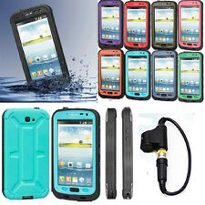 HOT NEW WATERPROOF CASE FOR SAMSUNG GALAXY NOTE 2 DIRTPROOF W/
