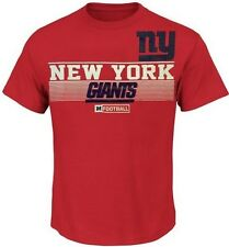 New York Giants NFL Majestic Mens Rumble Tee Shirt Red Big & Tall Sizes