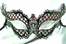 Metal Crystals Sexy Diaries Vampire Costume Party Masquerade Ball half face mask