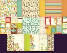 """12""""X12"""" Scrapbook Paper Save The Date Collection Double Sided 8 designs 2 choose"""