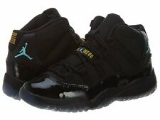 AIR JORDAN XI RETRO 11 PS BLACK GAMMA BLUE MAIZE PRESCHOOL 378039-006 11C-3Y
