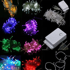 10M 100LED Xmas Party Christmas Decor String Fairy Wedding Decoration Light Lamp