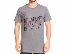 Men's or Boy's Billabong Grey Coiny Surf T Shirt / Tee. Size S. NWT, RRP $49.99
