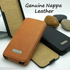iCARER GENUINE ITALIAN NAPPA LEATHER FLIP BOOK CASE COVER- APPLE IPHONE 5 5S