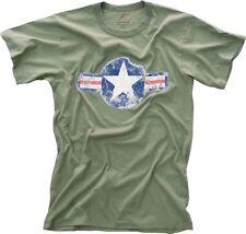 Olive Drab Army Air Corp Vintage Short Sleeve T-Shirt