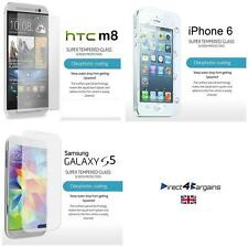 100% Genuine Tempered Glass Film Screen Protector iPhone 6,HTC One M8, Galaxy S5
