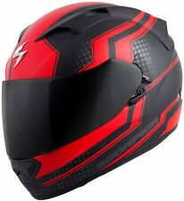 Scorpion EXO-T1200 Full Face Helmet Alias Graphic Red Free Size Exchanges