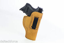 Molded Inside Waistband Clip Holster CUSTOM MADE TO YOUR GUN - 2 colors