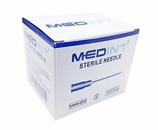 Disposable Needle 100 Units Box Needles Hypodermic Medint