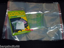 KORJO Lrg Resealable Travel Luggage Packing Cloth Shoes Storage Bags5/10/15pc AU
