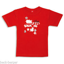 DUCATI Graphic PUZZLE KIDS Short Sleeve T-Shirt Girl & Boys NEW 2012