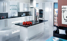 High Gloss White Kitchen Doors and Drawer Fronts