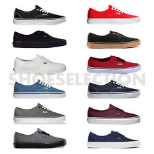VANS AUTHENTIC ERA CLASSIC SNIKERS MENS/WOMENS CANVAS SHOES ALL COLORS ALL SIZES