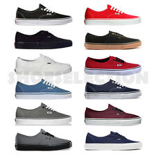VANS NEW AUTHENTIC ERA CLASSICS SNIKERS MENS/WOMENS CANVAS SHOES ALL SIZES