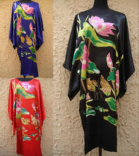 Charming Chinese Silk Women's Kimono Robe Gown