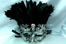 Halloween Skull Masquerade Mask Costume Prom Birthday Midnight Bachelor Party