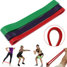 Body Gym Training Exercise Powerlifting Crossfit Resistance Loop Latex Band