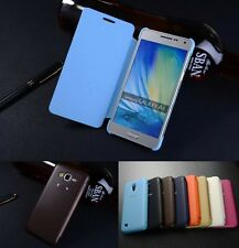 Protective Flip Luxury PU Leather Cover JDPT Case For Samsung Galaxy