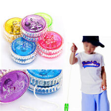 New Light Up Yoyo Trick Yo Yo Child Clutch Mechanism Toy Speed Ball Return Top