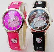 1 pcs Cute HelloKitty Girls women wrist quartz Watch Children 5 colours ZW7