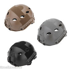 Airsoft Tactical FAST Helmet with Protective Goggle Gear Paintball Base Jump