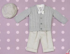 Baby Boy Christening Baptism Pageboy Formal Smart Suit Outfit Wedding Grey 0-18M