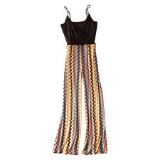 NEW! Authentic Missoni Target Romper Jumpsuit SOFT & SEXY Colore Brown chevron