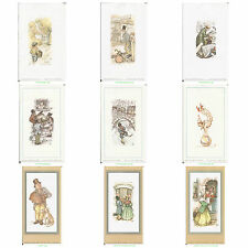 "Anton Pieck Prints  - Pack of 5 for DECOUPAGE - 3"" x 2"""