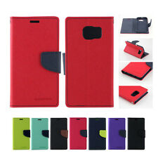 Mercury Goospery Leather Wallet Case Card Cover for Samsung Galaxy S3 S4 S5 S6