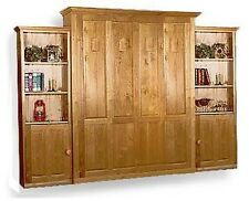 Deluxe Vertical Murphy Queen or Full Wall Bed Woodworking Plans