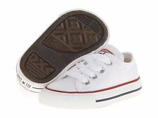 Converse All Star optical White Ox Baby low top toddler boy girl Shoes Size 5-10