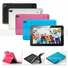 "9"" Quad Core Android 4.4 KitKat Cortex A7 Tablet PC A33 8GB Dual Camera WiFi New"