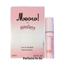 Meow! by Katy Perry for Women * NEW Fragrance Travel EDP Vial Spray Sample