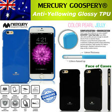 iPhone 5 5S SE Mercury Goospery Jelly Glossy Shockproof TPU Silicon Gel + Free