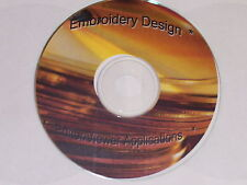 Embroidery Design Sizers/Editors/Converters/Viewers CD or USB - 14 Programs